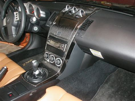350z carbon fiber interior car interior design