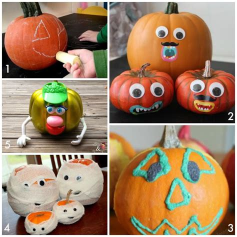no carve pumpkin decorating 10 easy no carve pumpkin decorating ideas your family will