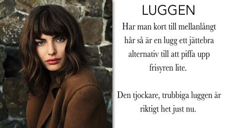 Långa Frisyrer Med Lugg by Frisyrtips Mellanl 229 Ngt H 229 R