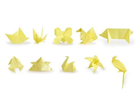 Origami Accessories - origami sticky notes accessories better living