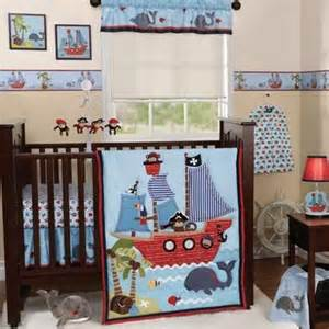 Baby Boy Cot Bedding Sets Pirate Baby Crib Bedding Pirate Ship Whale Island