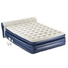 aerobed mini headboard favorite inflatable headboard air beds and mattresses with