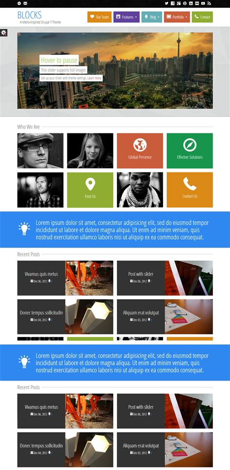 theme drupal photo 3 best responsive metro style drupal themes in 2013