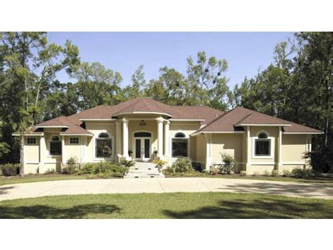 stucco house plans mediterranean house small one story mediterranean house