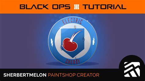 tutorial logo emblem black ops 3 electric cherry emblem tutorial 032 by