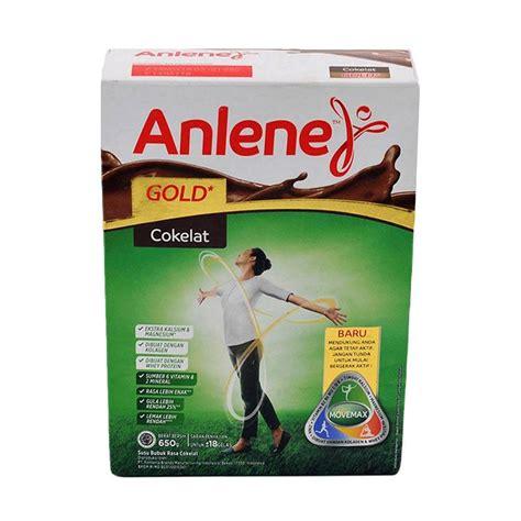 Anlene Gold Coklat jual anlene gold vanila formula 650 g