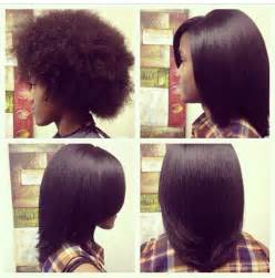hairstyles for transitioning from a relaxer flat ironed natural hair http blackhair cc 1jsy2ux