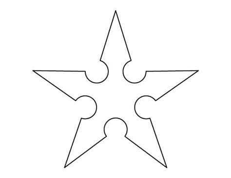 printable ninja images ninja star pattern use the printable outline for crafts