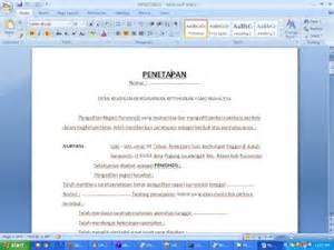 contoh surat penetapan dari pengadilan contoh surat dan