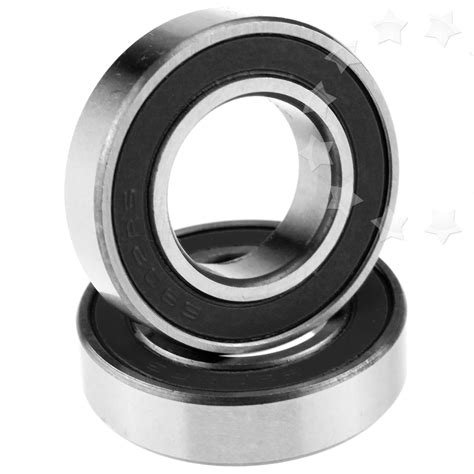 Bearing 6902 2rs Asb 1 6902 2rs bearing 15x28x7mm set hub rubber sealed new ebay