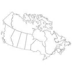 vector map of canada at vectorportal