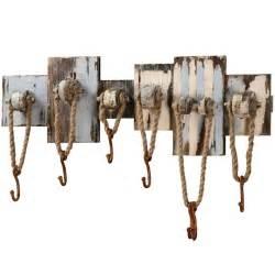 rustic nautical hooks pool house hat coat towel holder 7 wall hook rack new ebay