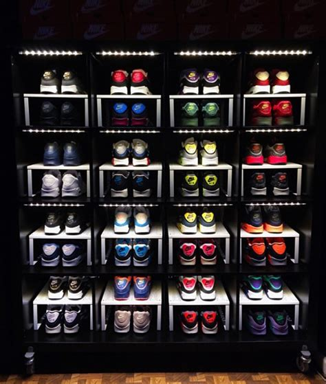 ikea sneaker shelves how to make an awesome sneaker storage display with stuff