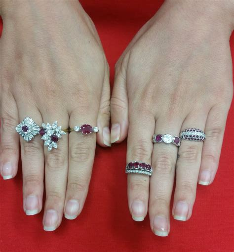 Wedding Rings With Rubies by Wedding Rings With Diamonds And Rubies