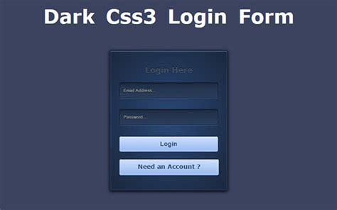 tutorial css login form learn everything you need to know from these css3 tutorials