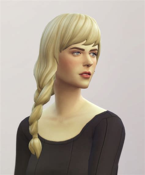 sims 4 side braids ep02 braid fishtail edit v1 one side at rusty nail