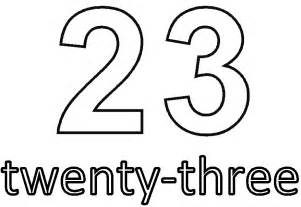Number 21 Coloring Page Pages Thu 25 sketch template
