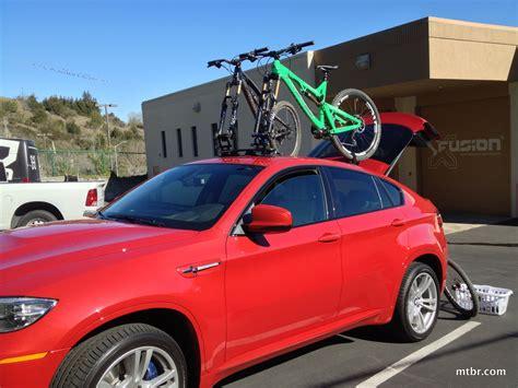 bmw with roof bike rack car interior design
