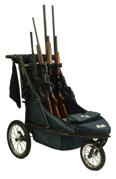 rugged gear cart more about the standard 4 gun shooting cart