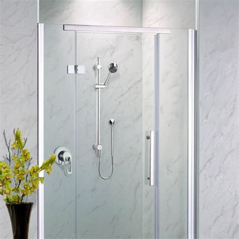 Bathroom Shower Panel Neptune Grey Marble Shower Panels From The Bathroom Marquee
