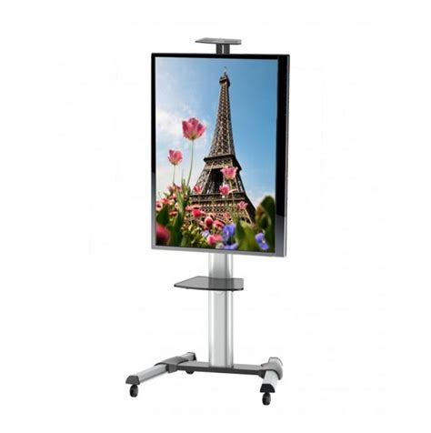 mensola tv carrello con mensola per tv lcd led plasma da 37 70 quot ruotabile