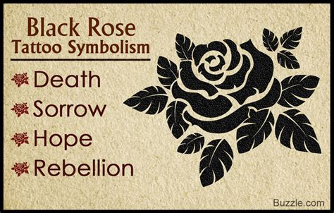 here s the true meaning behind the alluring black rose tattoo
