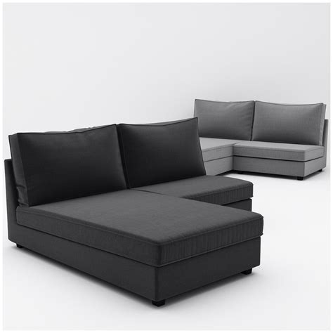 ikea kivic sofa 3d kivik ikea 6 sofa model