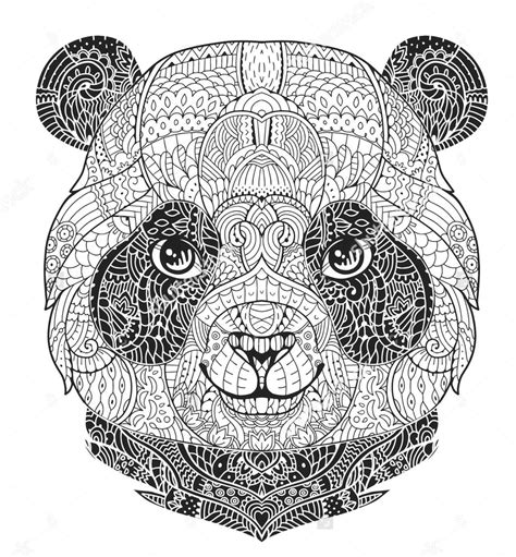zentangle coloring book zentangle panda colouring sheet coloring pages