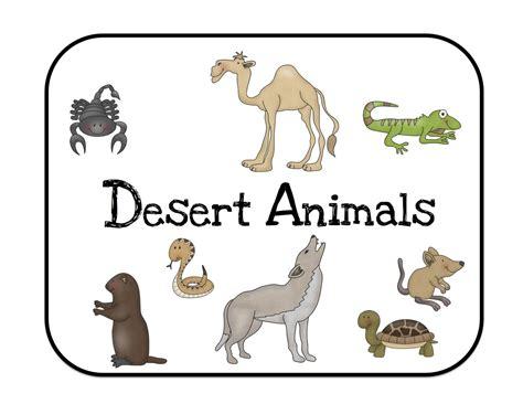 printable desert animal pictures desert animals bulletin board cards preschool printables