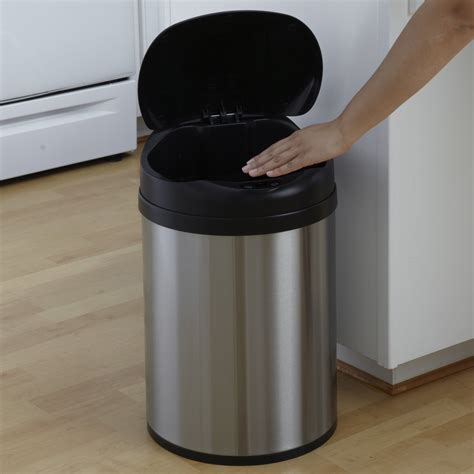 kitchen trash can recycle bin combo trash cans kitchen for recycle bin combo stainless steel