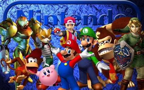 nintendo characters wallpaper wallpapersafari