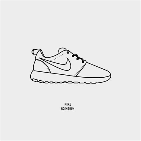 nike roshe run coloring coloring pages