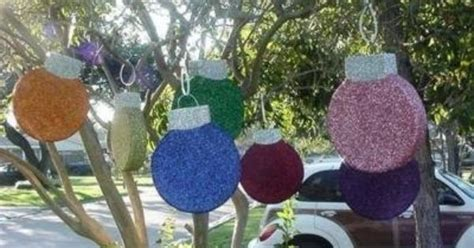 large outdoor christmas decorations large outdoor
