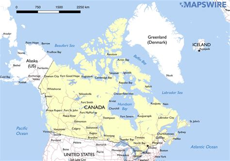 Free Search In Canada Map Of Canada With Cities Driverlayer Search Engine