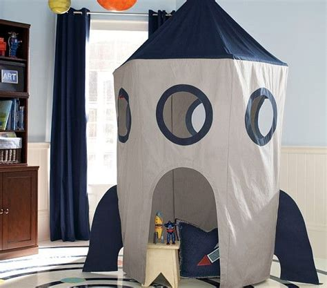 Canopy Space Rocket Tent Canopy Pottery Barn Boy S Room