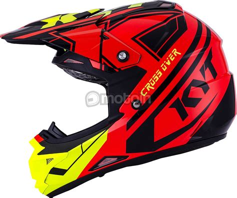 Helm Kyt Cross Orange Kyt Cross Ktime Crosshelm Motoin De