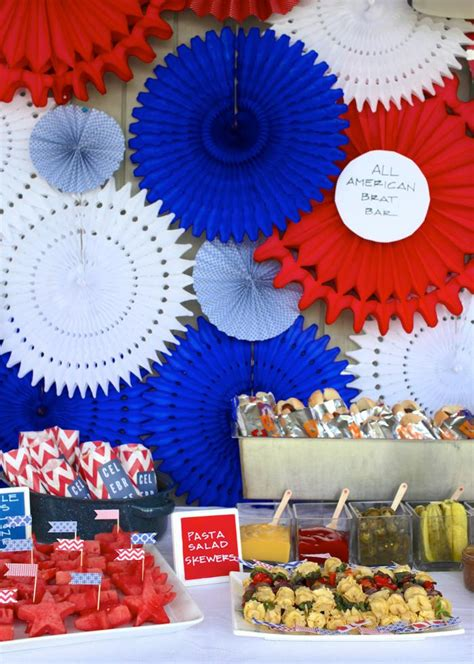 Kara S Party Ideas 4th Of July Outdoor Summer Patriotic Party Planning Ideas Decorations