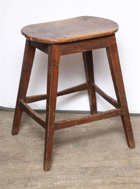 unusually large oval kitchen stool for sale at 1stdibs