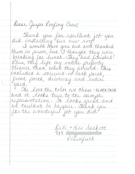 appreciation letter after a wedding how write letter of appreciation information technology