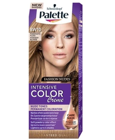 is color intensive or extensive schwarzkopf palette intensive color creme bw10 pudrowy