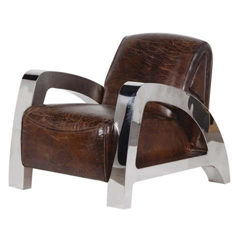 italian leather steel a frame armchair hydes furniture