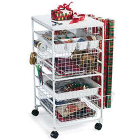 elfa gift wrap organizer elfa 174 gift wrap cart findgift
