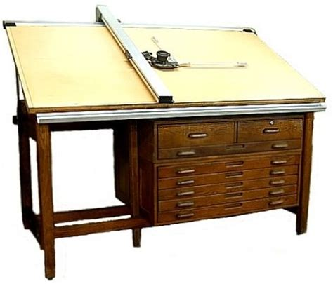 Hamilton Drafting Table Up For Auction July 17 2012 Cant Hamilton Drafting Table
