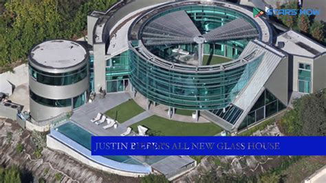 justin bieber house music justin bieber s all new glass house in beverly hills youtube