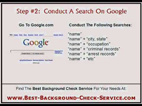 Do A Background Check Free Background Checks How To Do Background Checks
