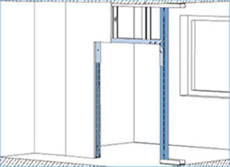 Ua Profil Einbauen by T 252 R 246 Ffnung In Trockenbauw 228 Nde Einbauen