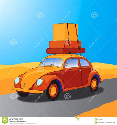 car travel car traveling vector royalty free stock images image 5181469