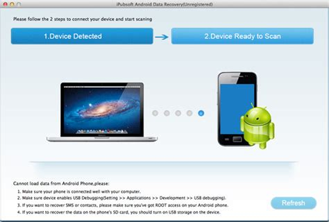 android recovery android data recovery pour mac r 233 cup 233 rer des fichiers android sur mac ipubsoft