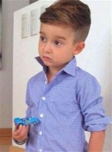 boys long on top haircut chic little boys haircut with undercut hair with long top