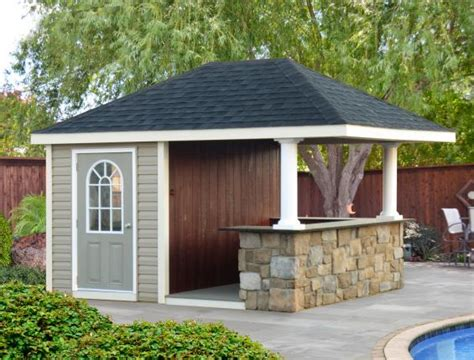 House Plans With Attached Guest House Homestead Structures Hand Crafted Pool Houses Pavilions